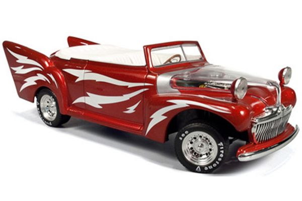 AMERICAN MUSCLE 1/18scale Greased Lightning RED / WHITE [No.AMM955]