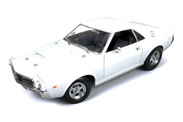AMERICAN MUSCLE 1/18scale 1969 AMC AMX Hurst S/S FROST WHITE [No.AMM979]