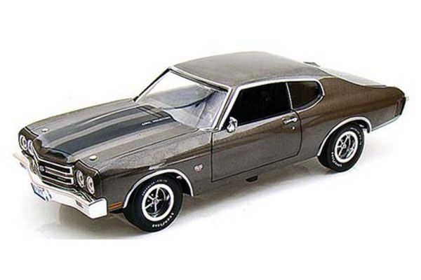 AMERICAN MUSCLE 1/18scale 1970 Chevrolet Chevelle SS454 SHADOW GREY [No.AMM986]