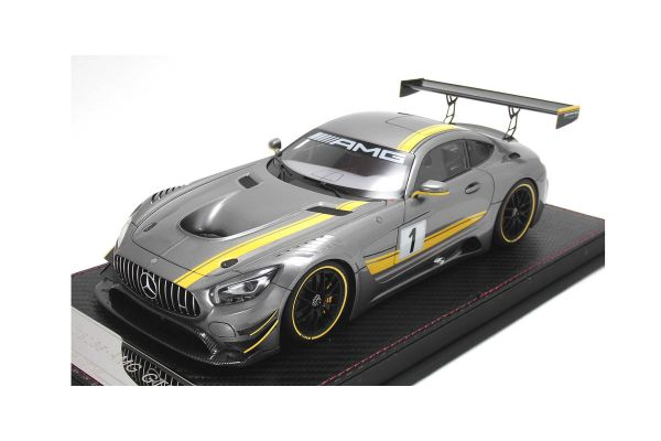 FRONTIART 1/18scale Mercedes-AMG GT3 Limited 500pcs silver gray [No.AS002-66]