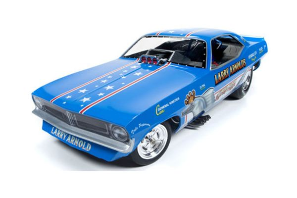 AMERICAN MUSCLE 1/18scale 1970 King Fish Plymouth Cuda  [No.AW1173]