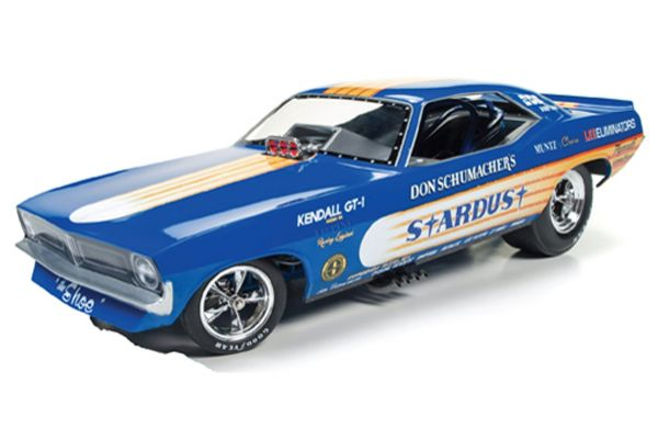 AMERICAN MUSCLE 1/18scale 1972 Plymouth Cuda Stardust Don Schumacher Various Racing  [No.AW1179]