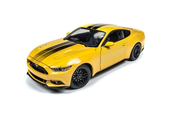 AMERICAN MUSCLE 1/18scale 2016 Ford Mustang GT Triple Yellow [No.AW229]