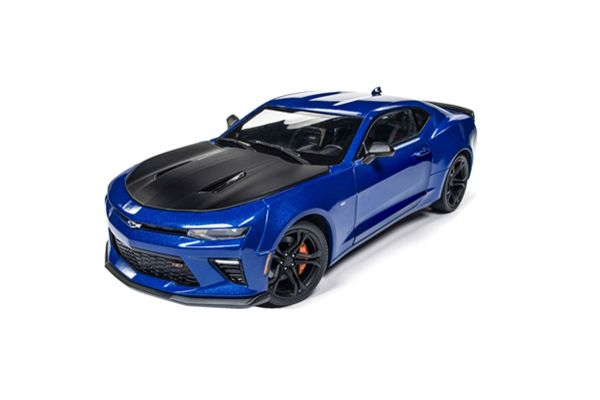 AMERICAN MUSCLE 1/18scale 2017 Chevrolet Camaro SS 1LE 50th Anniversary Hyper Blue  [No.AW241]