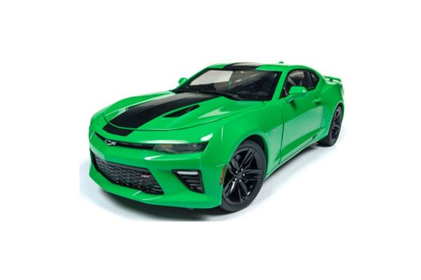 AMERICAN MUSCLE 1/18scale 2017 Chevy Camaro SS (Krypton Green/Black)  [No.AW244]