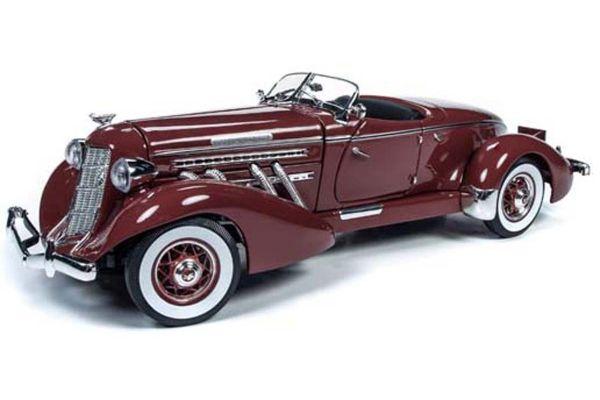 AUTO WORLD 1/18scale 1935 Auburn Speedster (Plum Burgundy)  [No.AW262]