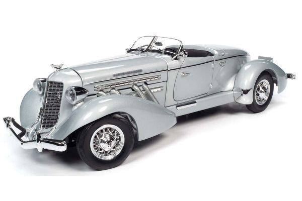 AUTO WORLD 1/18scale 1935 Auburn 851 Speedster Gray  [No.AW268]
