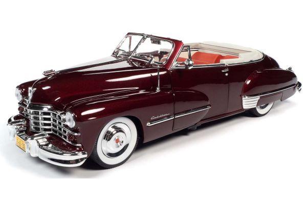 AUTO WORLD 1/18scale 1947 Cadillac 62 Cabriolet Burbundy  [No.AW273]