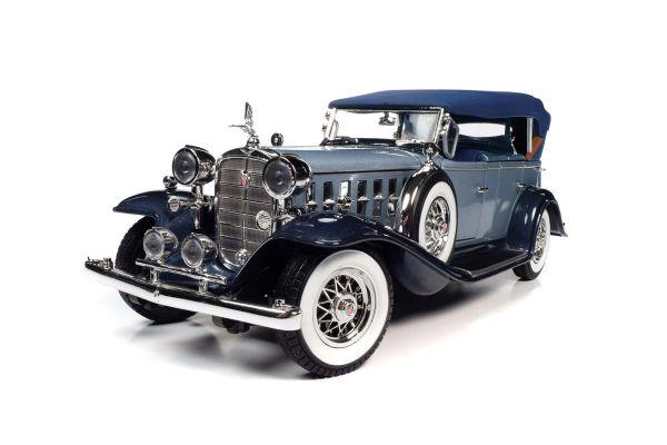 AUTO WORLD 1/18scale 1932 Cadillac V16 Sports Phaeton Light Blue/Dark Blue  [No.AW278]