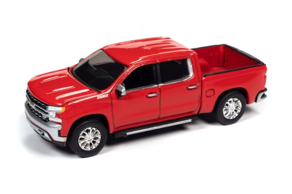 AUTO WORLD 1/64scale 2019 Chevy Silverado LTZ Z71 Red  [No.AW64282B1R]