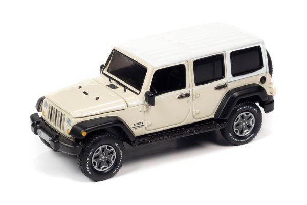 AUTO WORLD 1/64scale 2018 Jeep Wrangler JK Unlimited Sport White  [No.AW64282B6W]