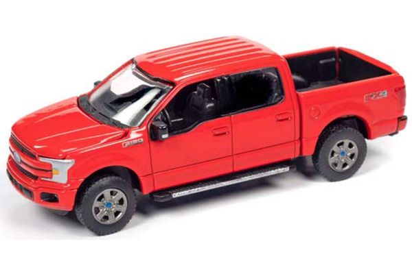 AUTO WORLD 1/64scale 2018 Ford F-150 (Red)  [No.AWSP041B]