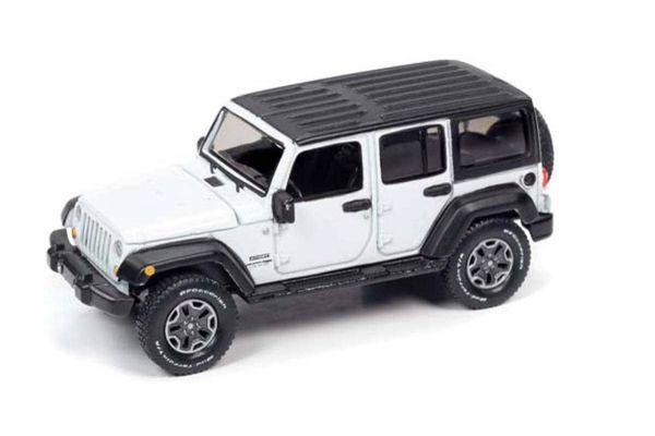 AUTO WORLD 1/64scale 2018 Jeep Wrangler JK 4 Door (Gloss White)  [No.AWSP042A]