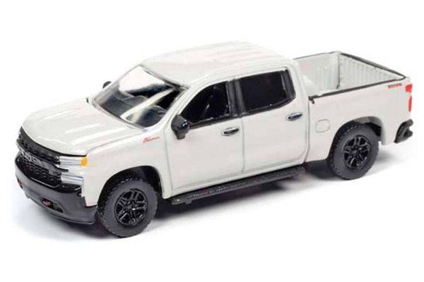 AUTO WORLD 1/64scale 2019 Chevy Silverado (White)  [No.AWSP043B]