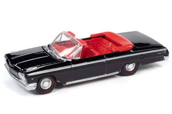 AUTO WORLD 1/64scale 1962 Chevy Impala SS Convertible (Gloss Black)  [No.AWSP045B]