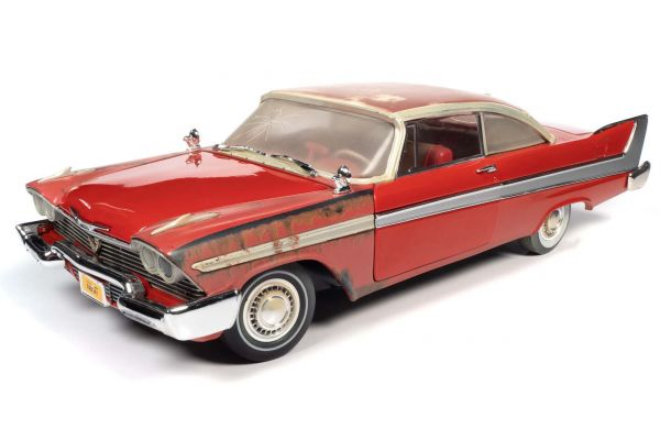 AUTO WORLD 1/18scale 1958 Plymouth Fury CHRISTINE Partially Restored  [No.AWSS130]
