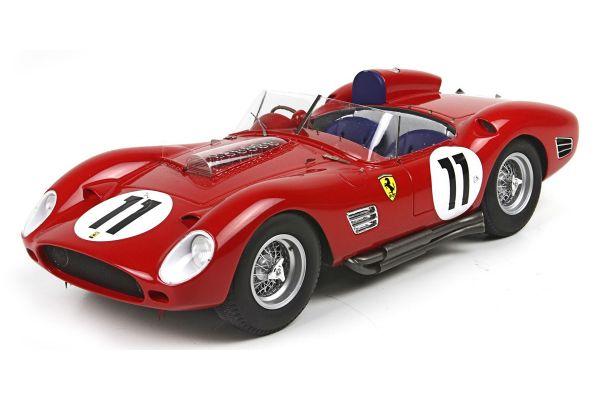 BBR 1/18scale Ferrari 250 TR60 winner 24h Le Mans 1961 No.11 Olivier Gendebien - Paul Frere limited 600pcs  [No.BBRC1805]