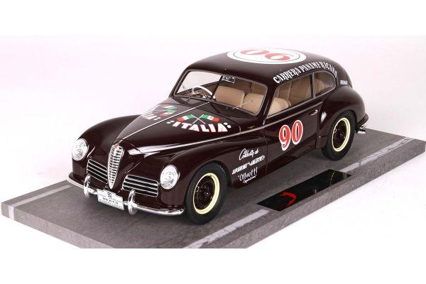 BBR 1/18scale Alfa Romeo Freccia d'Oro 1 ° 1950 Carrera Panam # 90  [No.BBRC1810]