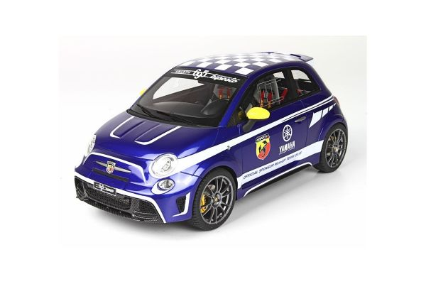 BBR 1/18scale ABARTH 695 Biposto Yamaha Factory Racing Edition 2015 Valentino Rossi YAMAHA Color (Blue) With Case  [No.BBRC1811AV]