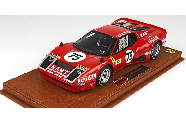 BBR 1/18scale Ferrari 365 GTB / 4 Le Mans with a 1977 with case limited 200pcs  [No.BBRC1813AV]
