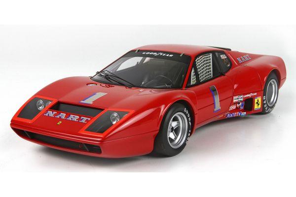 BBR 1/18scale Ferrari 365 GTB / 4 24H Daytona 1975 with case (limited 100pcs)  [No.BBRC1813DV]