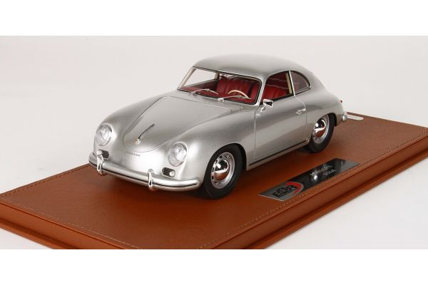 BBR 1/18scale Porsche 356 A 1955 (Silver) with case  [No.BBRC1820AV]
