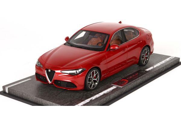 BBR 1/18scale Alfa Romeo Giulia Veloce Rosso Monza Limited: 199 units  [No.BBRC1829B]