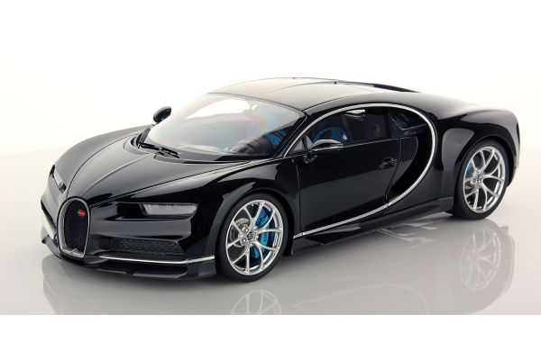 MR Collection 1/18scale Bugatti Chiron Black Uni  [No.BUG06C]