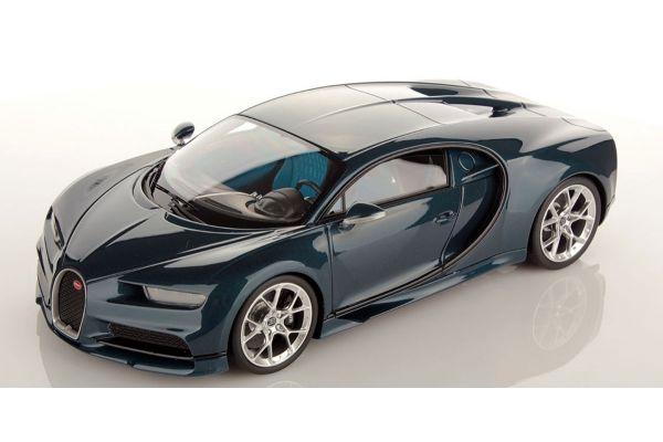 MR Collection 1/18scale Bugatti Chiron Blue Carbon  [No.BUG06H]