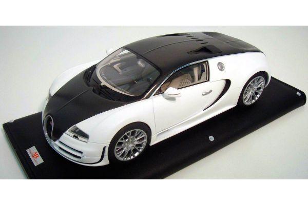 MR Collection 1/18scale Bugatti Veyron 16.4 Super Sport Solid White/Carbon [No.BUG03E]