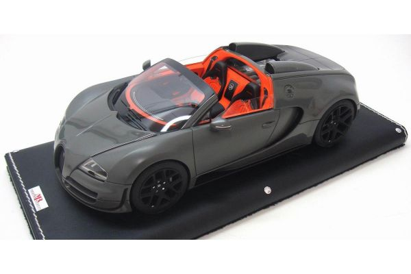 MR Collection 1/18scale Bugatti Vitesse Jet Grey/Matt Grey [No.BUG04A]