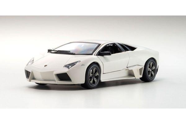 Bburago 1/24scale Lamborghini Reventon flat white  [No.BUR21041FW]