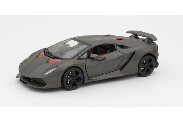 Bburago 1/24scale Lamborghini Sest Element (Metallic Gray)  [No.BUR21061MG]