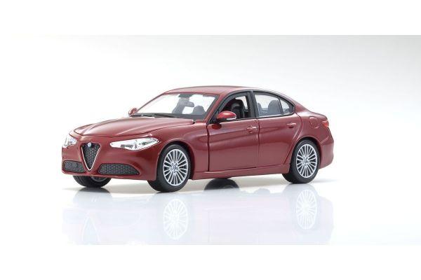 Bburago 1/24scale Alfa Romeo Giulia Red  [No.BUR21080R]