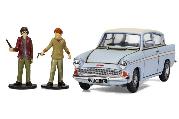 CORGI 1/43scale Harry Potter Ford Anglia (blue)  [No.CGCC99725]