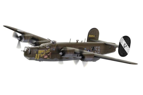 CORGI 1/72scale Consolidated B24 Hiberator 'Male Call' 453 rd Bombardment Group 8 th AF 1944 Jimmy Stewart  [No.CGAA34018]