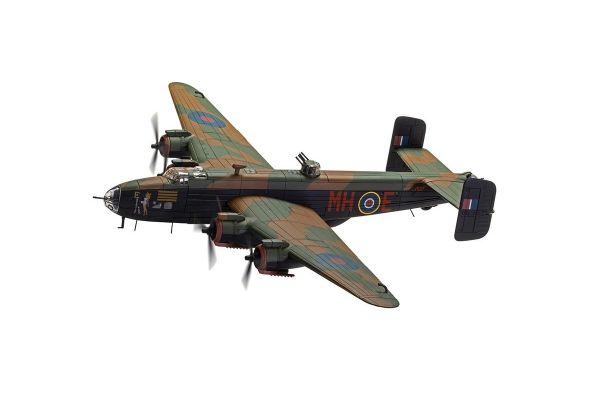 CORGI 1/72scale Handley Page Halifax B.III LV937/MH-E 'Expensive Babe' RAF No.51 Squadron Snaith March 1945 – Halifax Centurion    [No.CGAA37209]