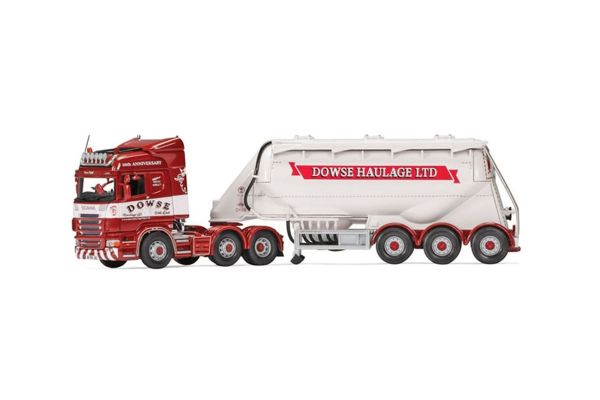 CORGI 1/50scale Scania R Highline Feldbinder Tanker Dowse Haulage Ltd  [No.CGCC13769]
