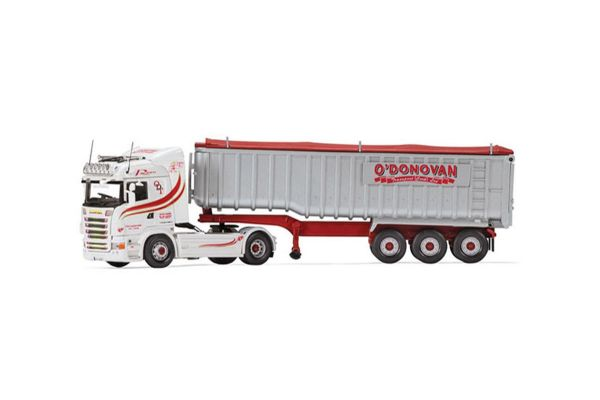 CORGI 1/50scale Scania R Highline Bulk Tipper O'Donovan (Waste Disposal) Ltd  [No.CGCC13771]
