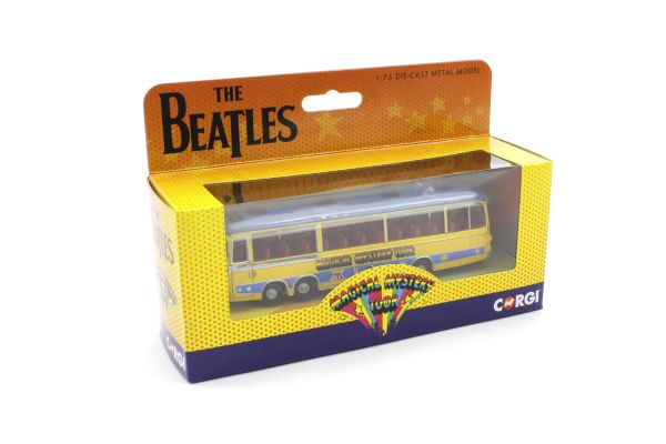 CORGI 1/76scale Magical Mystery Tour Bus (The Beatles) NEW Package  [No.CGCC42419]