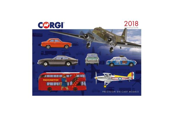 CORGI scale 2018 Corgi Catalog (January - June)  [No.CGCO200828]