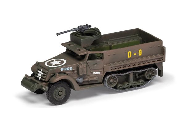 CORGI scale M3 Half Track 41st Armored Infantry 2nd Armored Div Normandy Landing Operation June 1944 (D Day)  [No.CGCS90631]
