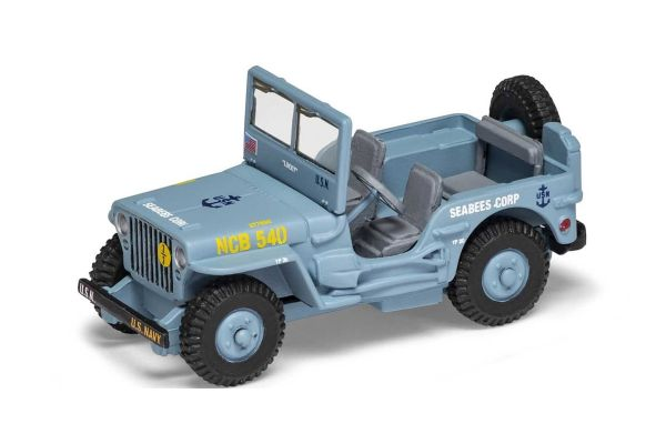 CORGI scale Willie Jeep SeeBees  [No.CGCS90633]