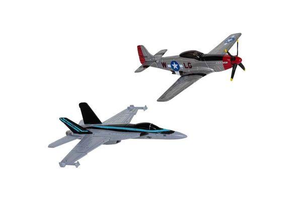 Maverick's F/A-18 Hornet™ and P-51D Mustang™ (Top Gun Maverick, 2020)  [No.CGCS90683]