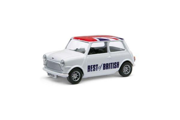 CORGI scale Best of British Classic Mini White / Union Jack  [No.CGGS82298]