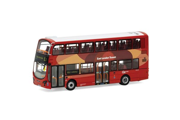 CORGI 1/76scale Wright Eclipse Gemini 2 (Double-decker bus) Go-Ahead East London Transit EL1 Thames View Estate  [No.CGOM46514B]