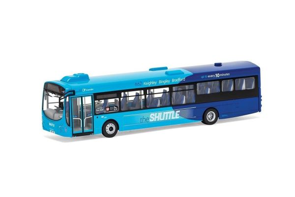 CORGI 1/76scale Wright Eclipse II (Single Deck) Transdev The Shuttle 662 Keighley Bus Station via Crossflats  [No.CGOM46713A]