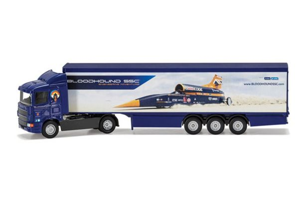CORGI 1/64scale Bloodhound SSC UK Display Version Super Hauler  [No.CGTY86663]