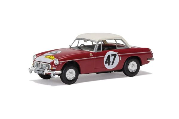 CORGI 1/43scale MGB 1966 Marathon de la Route Outright Winner Hedges & Vernaeve   [No.CGVA10710]
