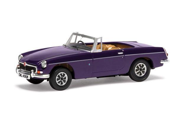 CORGI 1/43scale MGB Roadster Aconite Purple  [No.CGVA10712]
